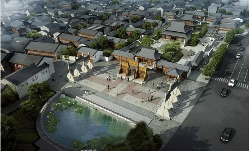 ▲ 鄄城老城区规划图(图片来源 网络)